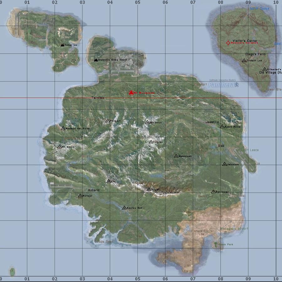 Dayz Panthera Map
